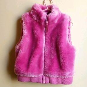 Made in Canada Kids Faux Fur Vest